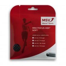Cordage MSV Focus-Hex Soft Noir (12 Mètres)
