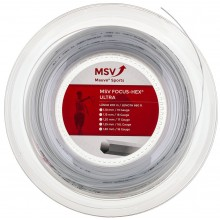Bobine MSV Focus Hex Ultra Blanc - 200 Mètres