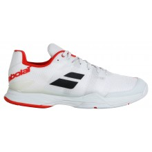 Chaussures Babolat Jet Match II Toutes Surfaces Blanches