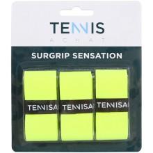 3 Surgrips Tennis Achat Sensation Jaunes