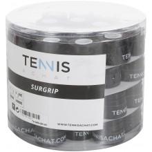 60 Surgrips Tennis Achat Sensation Noirs