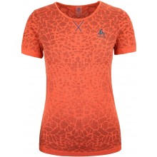 Tee-Shirt Odlo Femme Mc Evolution Light Rouge