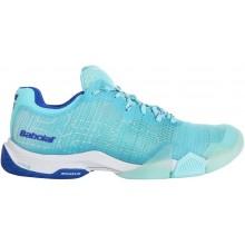 Chaussures Babolat Padel Femme Jet Premura Bleues