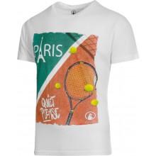 Tee-Shirt Quiet Please Paris Blanc