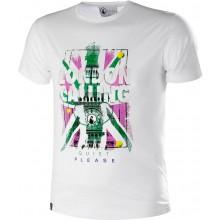 Tee-Shirt Quiet Please London Calling Blanc