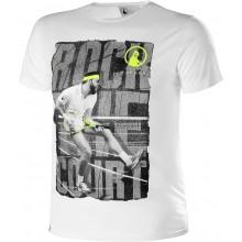 Tee-Shirt Quiet PleaseRock The Court Blanc