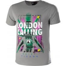 Tee-Shirt Quiet Please London Calling Gris