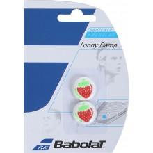 Antivibrateurs Babolat Wimbledon Strawberry Rouges