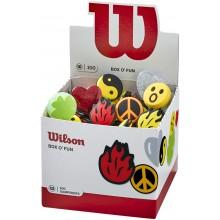 Boîte de 100 Antivibrateurs Wilson O Fun