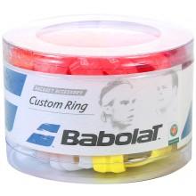 Boite De 60 Caoutchoucs De Finition Babolat Custom Ring Pour Grip et Surgrip