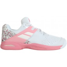 Chaussures Babolat Junior Propulse Toutes Surfaces Blanches
