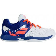 Chaussures Babolat Junior Pulsion Toutes Surfaces Banches