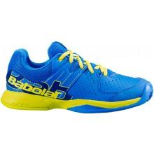 Chaussures Babolat Padel Junior Pulsa Terre Battue Bleues