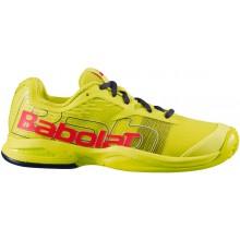 Chaussures Babolat Padel Junior Jet Premura Vertes