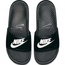 Claquettes Nike Noires
