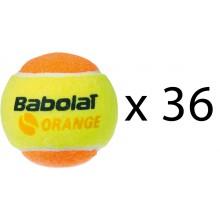 Recharge De 36 Balles Babolat Orange