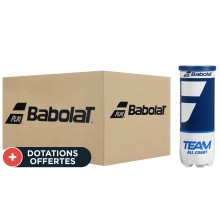 Carton De 24 Tubes De 3 Balles Babolat Team All Court