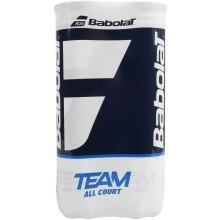 Bipack de 4 balles Babolat Team Allcourt