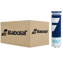 Carton de 18 Tubes de 4 Balles Babolat Gold All Court
