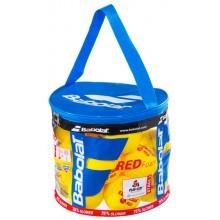 Sac Zippé De 24 Balles Babolat Red Foam