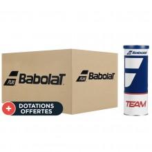 Carton De 30 Tubes De 3 Balles Babolat Team