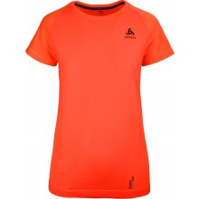 Tee-Shirt Odlo Femme MC Ceramicool Motion Corail