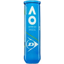 Tube De 4 Balles Dunlop Australian Open