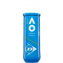 Tube De 3 Balles Dunlop Australian Open