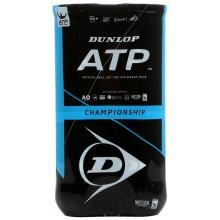Bipack de 4 Balles Dunlop ATP Championship