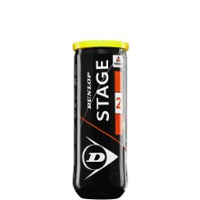 Tube De 3 Balles Dunlop Mini Tennis  Stage 2 Orange