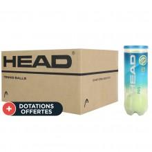 Carton De 24 Tubes De 3 Balles Head Pro Blue