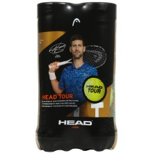 Bipack de 4 Balles Head Tour
