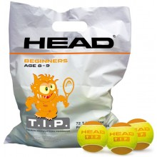 Sachet De 72 Balles Head T.I.P. Orange