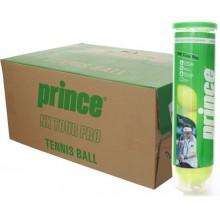 Carton De 18 Tubes De 4 Balles Prince NX Tour Pro