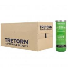 Balles Tretorn Academy Green Carton de 24 Tubes de 3 Balles