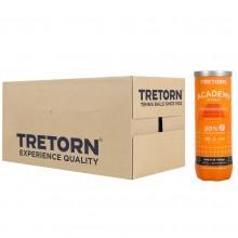 Balles Tretorn Academy Orange Carton de 24 Tubes de 3 Balles