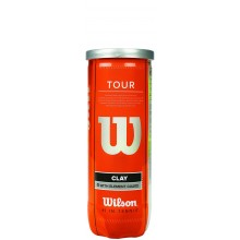 Tube De 3 Balles Wilson Tour Clay