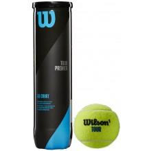 Tube De 4 Balles Wilson Tour Premier