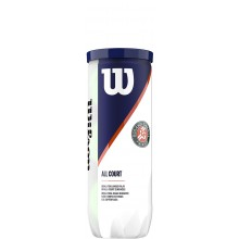 Tube De 3 Balles Wilson Roland Garros All Court
