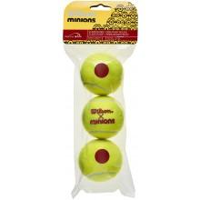 3 Balles Wilson Minions Stage 3