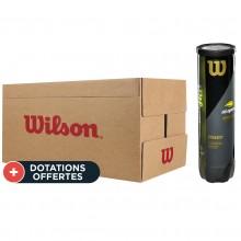 Carton De 18 Tubes De 4 Balles Wilson US Open