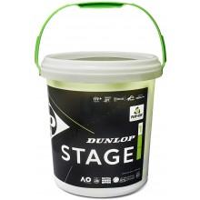 Baril De 60 Balles Dunlop Stage 1 Vertes