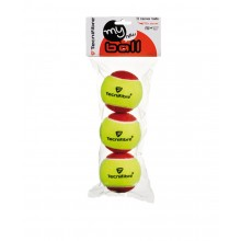 Sachet De 3 Balles Tecnifibre My New Ball Rouges