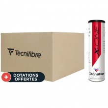 Carton De 36 Tubes De 4 Balles Tecnifibre X-One