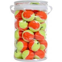 Lot De 36 Balles Tecnifibre Mini-Tennis Orange