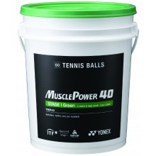 Baril De 60 Balles Yonex TMP-40 Vertes
