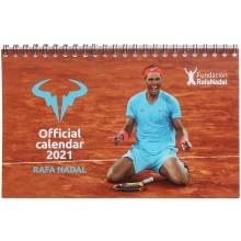 Calendrier Rafael Nadal 2021 Bureau