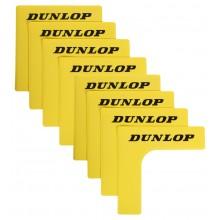 Lot de 8 Angles de Court Dunlop