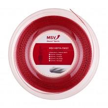 Bobine MSV Hepta Twist Rouge 200m