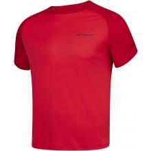 Tee-Shirt Babolat Junior Play Rouge